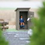 miniaturki w parku