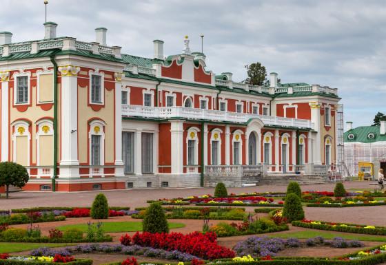 Kadriorg Palace in Tallinn Estonia